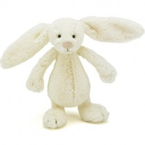 Jellycat Bashful Bunny Cream, Small