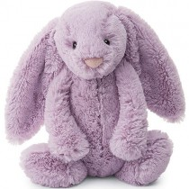 Jellycat Bashful Bunny Lilac, Medium