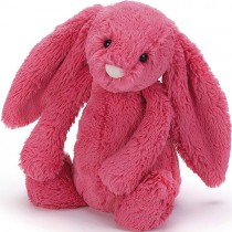 Jellycat Bashful Bunny Strawberry, Medium