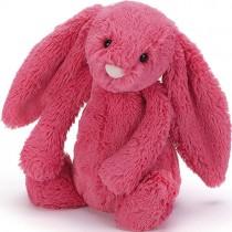 Jellycat Bashful Bunny Strawberry, Medium