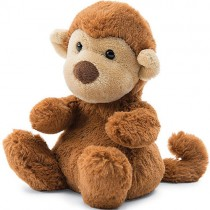 Jellycat Pocket Poppet Animals, Monkey