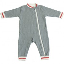 Juddlies Cottage Playsuit, Driftwood Grey