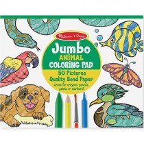 Jumbo 50-Page Kids' Colouring Pad
