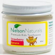 Nelson Remineralizing Toothpaste, Strawberry Banana