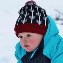 Knit Winter Hat, Child Size (9-24+ months)