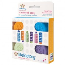Lifefactory Bottle Caps (4pk)