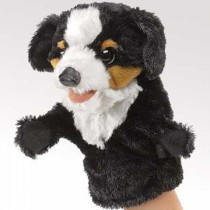 Little Bernese Mountain Dog Puppet