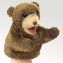 Little Brown Bear Puppet