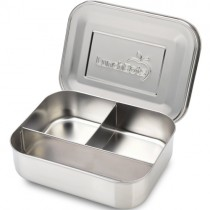 Lunchbots Bento Lunch Box, Large Trio (Stainless)