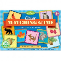 Matching Game, Woodland Life