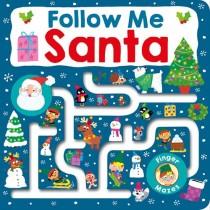 Maze Book : Follow Me Santa