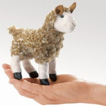 Mini Alpaca, Finger Puppet