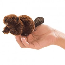 Mini Beaver, Finger Puppet