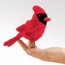 Mini Cardinal, Finger Puppet