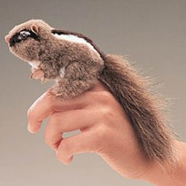 Mini Chipmunk, Finger Puppet