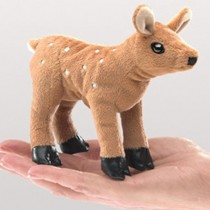 Mini Fawn, Finger Puppet