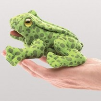Mini Frog, Finger Puppet