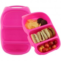 Mini Goodbyn Bynto Reusable Lunch Boxes, Pink