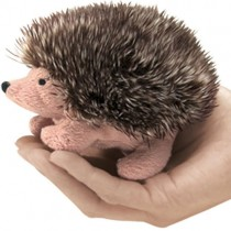 Mini Hedgehog, Finger Puppet