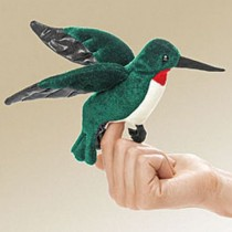 Mini Hummingbird, Finger Puppet