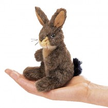 Mini Jack Rabbit, Finger Puppet