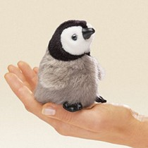 Mini Penguin, Finger Puppet