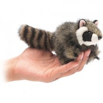Mini Raccoon, Finger Puppet