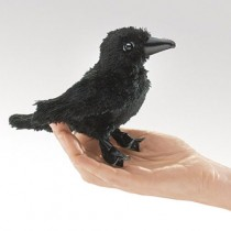 Mini Raven, Finger Puppet