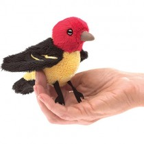 Mini Tanager, Finger Puppet