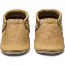 Mini Moc Soft-Soled Baby Shoes, Terrain Wheat
