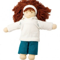 Natural Waldorf Dolls, Little Friend - Ellen