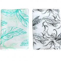 Nest Bamboo Blankets, Set of 2