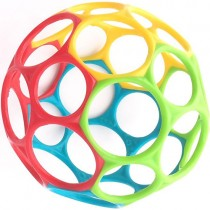 """Oball Classic Bendable Ball, 4"""""""
