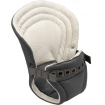Onya Baby Carrier, Infant Insert Baby Booster-Slate Grey/Organic Terry