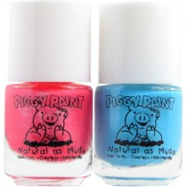 Piggy Paint Nail Polish, Mini Fovever Fancy & Sea-Quin