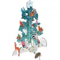 Pop-Out & Build, Winter Woodland Tree
