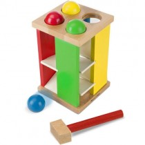 Wooden Pound and Roll Tower