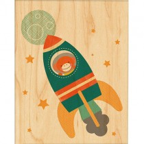 Prints on Wood, Rocket Monkey