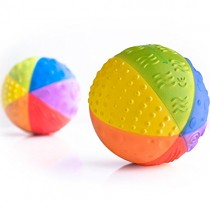 100% Rubber Rainbow Sensory Ball