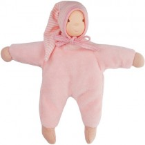 Rubber Soft Baby Doll, Pink