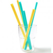 Silicone Straws (6pk) (glass not included)