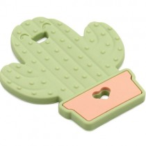 Silicone Teether, Cactus
