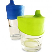 Silicone Universal Sippy Top (2pk) (glasses not included)