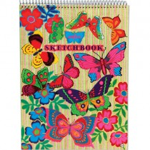 Sketchbook, Fluorescent Butterflies