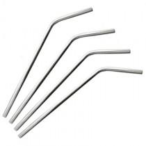 "Stainless Steel Straws, Short (6.95"")"