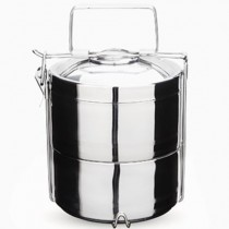 Stainless Steel 2-Layer Tiffin