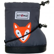 Stonz Booties, Multi-Season Toddler Boots - Fox (Grey)