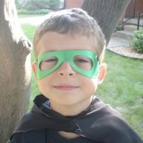 Superhero Blaster Cuffs and Mask