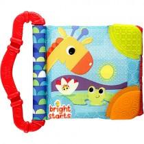 Teethe & Read Cloth Stroller Toy