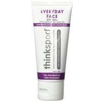 ThinkSport SPF 50+ Everyday Face Natural Sunscreen, 2oz